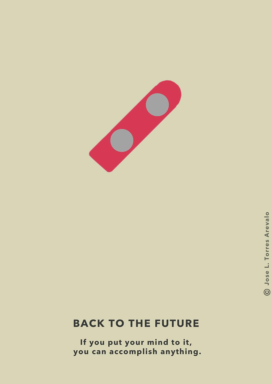diseno-grafico-poster-minimalista-regreso-al-futuro